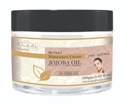 White Night Khadi Jojoba Herbal Moisturizing Cream, For Personal, Packaging Size: 100 ml