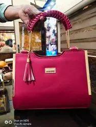 Hand, Shoulder Multicolor Imported Designer Hand Bags, For Office