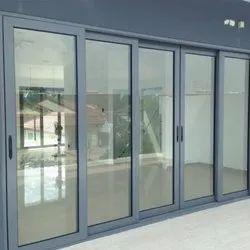 Aluminium Closet Doors Aluminum Sliding Door, Exterior