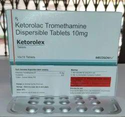 10mg Ketorolac Tromethamine Dispersible Tablets