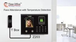 Z203T Face Attendance with Temperature Detection Device