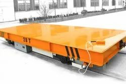 Mild Steel Yellow Rail Transfer Cart, For Industrial, Load Capacity: 20 Tonnes