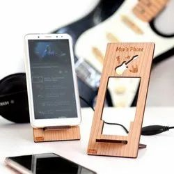 Wooden Customized Mobile Stand