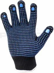 Wixxi Industrial Safety Gloves- Leather And Cotton