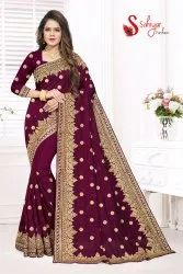 Vichitra Silk High Quality Designer Saree