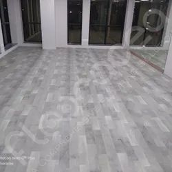 Matte Wooden Textured PVC Vinyl Flooring, For Residential,Commercial, Thickness: 4.5 Mm