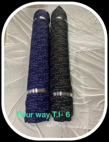 Polyester Four Way Lycra