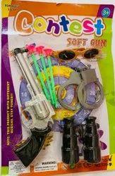 Revolver Toy Gun & Hand Cuff Toy