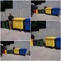 Plastic Dust Bins With Wheels