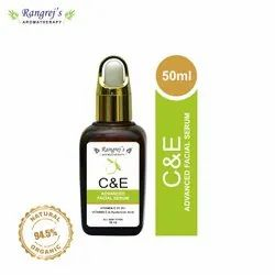 Rangrej''s Aromatherapy c & e Advanced Facial Serum With Vitamin c 21.5%  50ml
