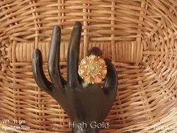 Moti Finger Ring