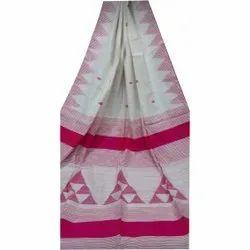 Modern Cotton Silk Hand Work Saree