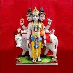 Marble Lord Bhagwan Datte Dev Statue