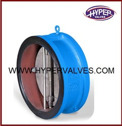 Api Stainless Steel Wafer Lug Type Dual Plate Valve, For Air, Gas & Liquid, Size: 2 To 24