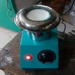 Silver & Black Electric Laboratory Burner