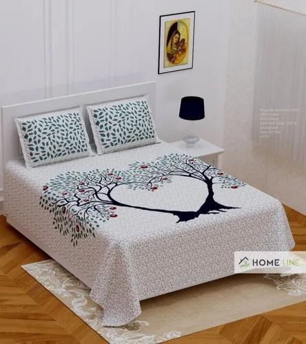 Pure Cotton Majlis Bedsheet Traditional Bed Sheet, Rs 333 /piece | ID:  3863396091