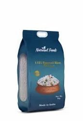 Pack Printed Pouches Custom 5 Kg Rice Pouch With Gusset And Handle