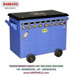 RAMATO 300A (1 And 2 Phase) Air Cooled Welding Machine