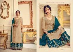 Alok Avanti Wedding Wear Dress Material