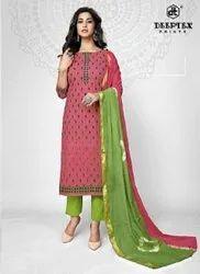 Deeptex Tradition Vol 7 Pure Cotton Designer Dress Material Catalog