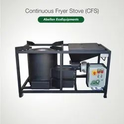 Stainless Steel Continuous Feeding Cook Stove (CFS)