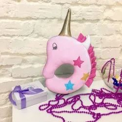 Soft Plush Unicorn Pillow