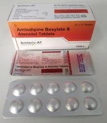 Amlodipine 5 mg  Atenolol 50mg  Tablet