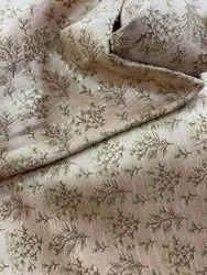 Jacquard Printed On Pure Silk Fabric