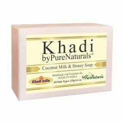 Bypurenaturals Khadi Coconut Milk & Honey Soap- 125gm