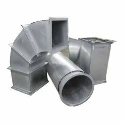 Electric Round MS Air Duct, For Commercial