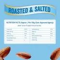 Jewel Farmer Roasted & Salted Almonds, Almond Kernels, Crunchy Nuts & Dry Fruits (500g)