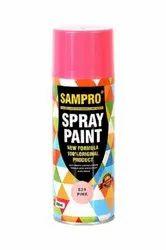 Sampro Pink Spray Paint