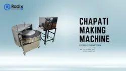 Round type chapati making machine