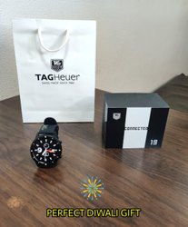 Analog Round Tag Heuer Wrist Watch