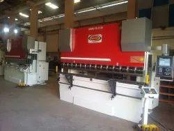 Rajshakti Y1,Y2 Axis CRHPB-110-31/25 CNC Synchro Press Brake Machine, Automation Grade: Automatic
