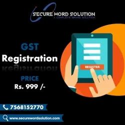 Business Gst Registration Consultancy Services, Aadhar or PAN card