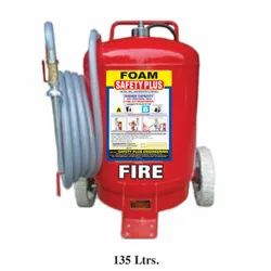 Safety Plus Mild Steel 135 Ltrs Foam Based Fire Extinguisher
