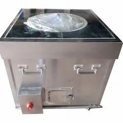 Stainless Steel SSSTG-124 SS Square Gas Fired Tandoor, For Commercial