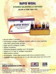 Rapid Widal Test Kit (2-2) x 5 Ml