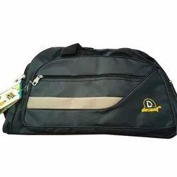 Polyester Black Designer Nylon Luggage Bag, Size/Dimension: 45 * 30 * 20cm