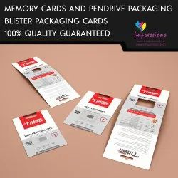 Pendrive / Sd Card Blister Packaging