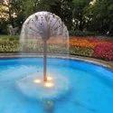 Half Hemisphere Dandelion Fountain
