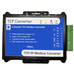 Modbus RTU To Modbus TCP Converter