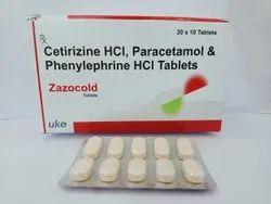 paracetamol phenylephrine cetirizine tablet