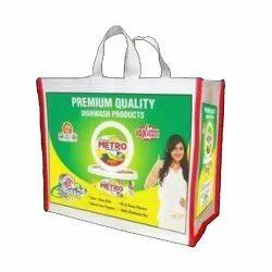 White Cotton Bag, For Shopping, Bag Size: 14 X 18