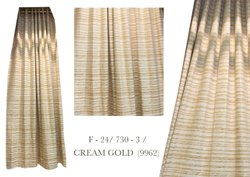 Cotton Cream Gold Modern Wall Curtain, For Home