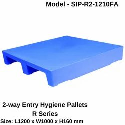 Rackable 2 Way Entry Hygiene Pallets - R Series