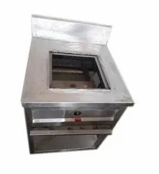 Commercial Single Burner Gas Bhatti, Number of Burners: 1, Size: 3*1 Feet