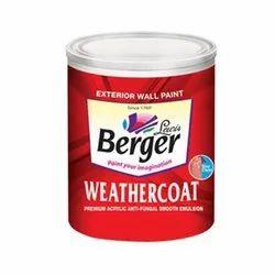 Berger Weather Coat, Emulsion Exterior Paint