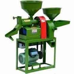TWIN ONE ATTA RICE MACHINE